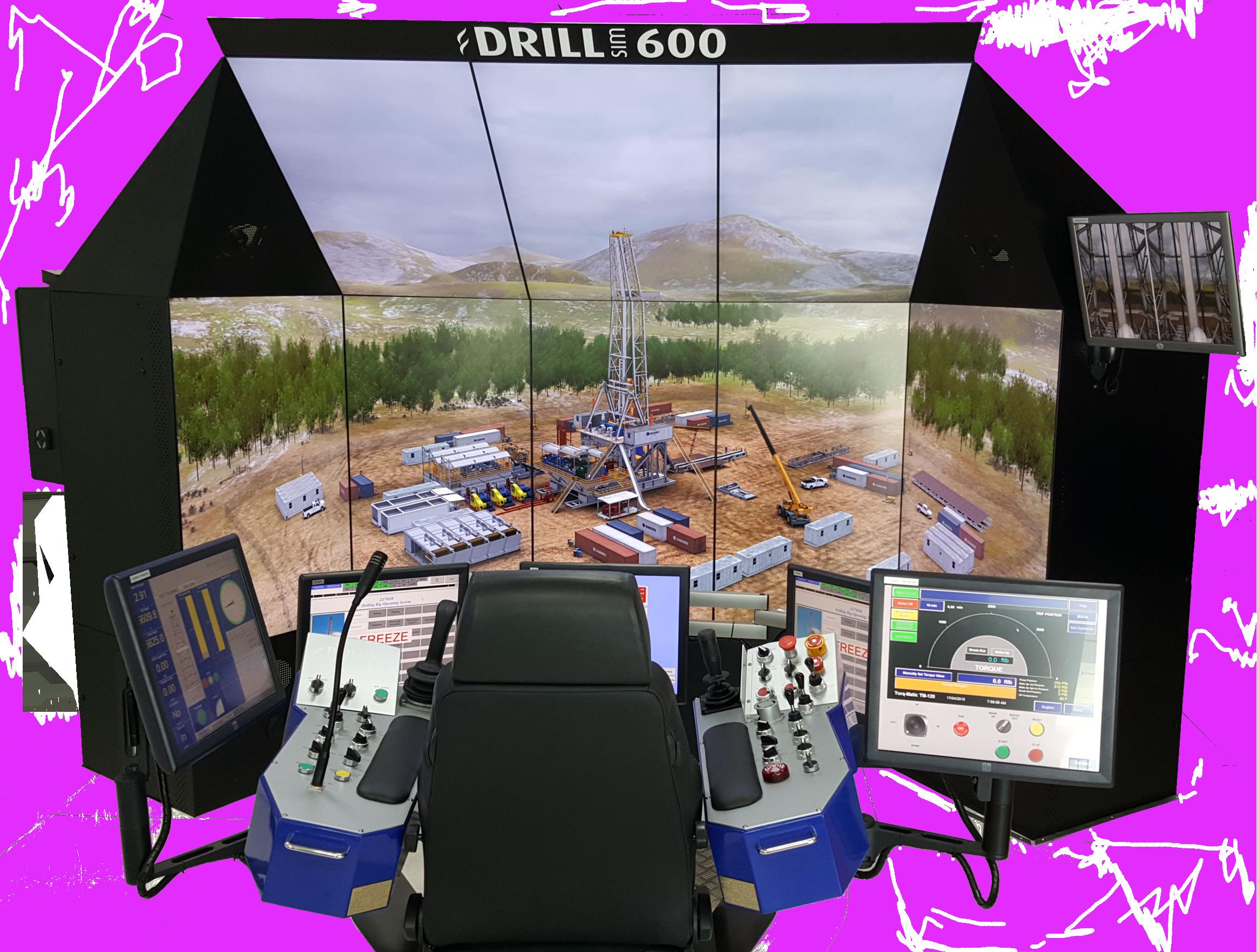 DrillSIM:600 Transparent Product Image